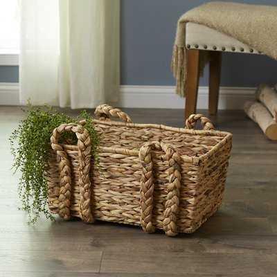 Rectangular Floor Basket - Wayfair