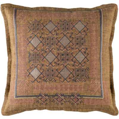 Rossendale Poly Euro Pillow, Browns/Tans - Home Depot
