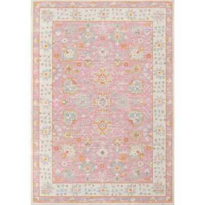 Studebaker Momeni Anatolia Pink Area Rug - Wayfair