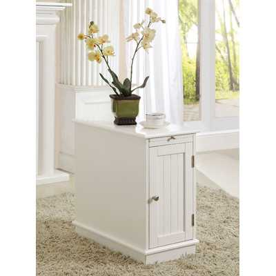 Lewis End Table with Tray - Birch Lane
