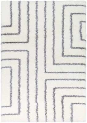 "Cloudy Shag 5'3"" x 7'3"" Area Rug - Neva Home"