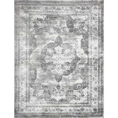 Monaco Gray 9 ft. x 12 ft. Area Rug - Home Depot