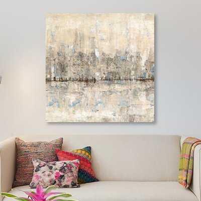 'Impressionist Skyline II' Painting Print on Wrapped Canvas - Wayfair