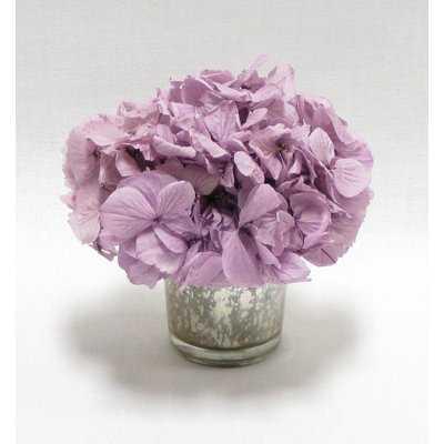 Mini Preserved Hydrangea in Vase - Birch Lane