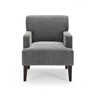 Dwell Home Tux Charcoal (Grey) Accent Chair - Home Depot