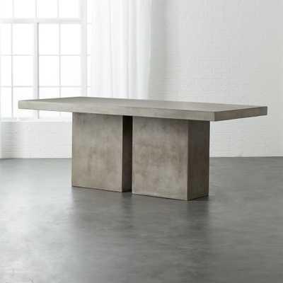 Fuze Large Grey Table - CB2