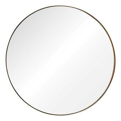 Oryx 29.5 in. H x 29.5 in. W Round Mirror - Home Depot