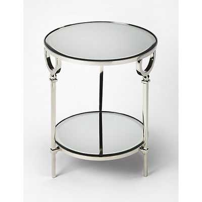 Butler Specialty Company Butler Jolene Metal and Mirror End Table - 3940140 - eBay