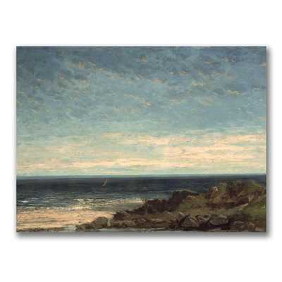 24 in. x 32 in. The Sea Canvas Art, Multi - Home Depot