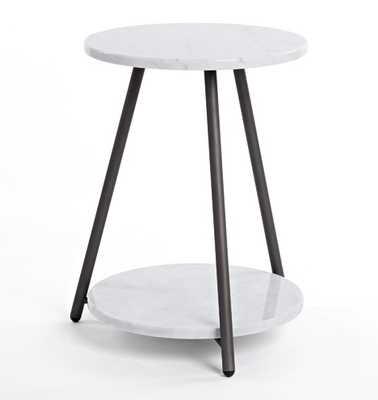 Bridge Marble Side Table - Rejuvenation