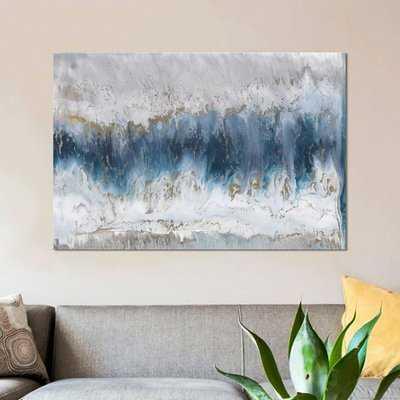 "'Moon Stone' Painting Print on Canvas_ 26"" H x 40"" W  x 1.5"" D - Wayfair"