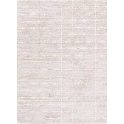 Uptown Collection by Jill Zarin Light Brown 9' x 12' Rug - Home Depot