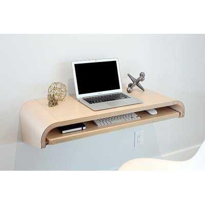 Minimal Floating Desk - AllModern