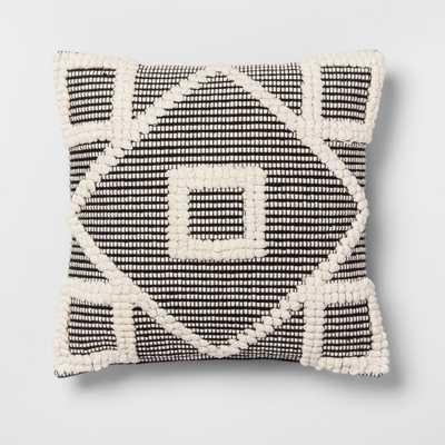 Diamond Throw Pillow Black - Opalhouse - Target