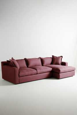 Belgian Linen Katina Right Sectional - Anthropologie