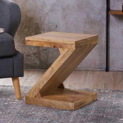 Wiest Wood End Table - Wayfair