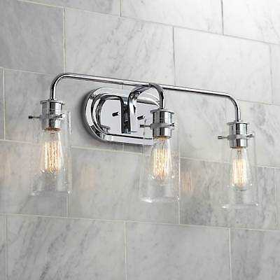"""Kichler Braelyn 24"""" Wide Chrome 3-Light Bath Light - eBay"""