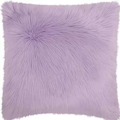 Yaritza Faux Fur Throw Pillow - AllModern