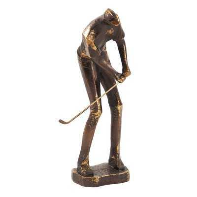 Banayos Putting Golf Player Figurine - Wayfair