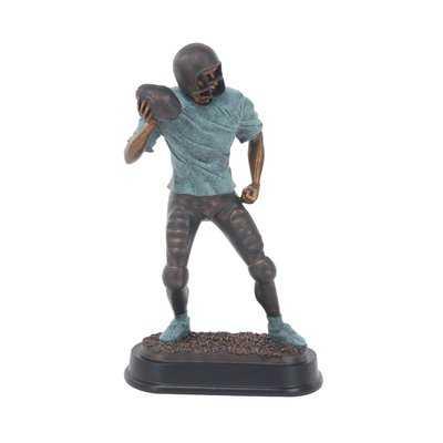 Furst Modern Passing Football Player Figurine - Wayfair