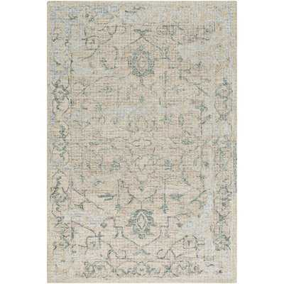 Waterville Dark Green/Sage Area Rug - Wayfair