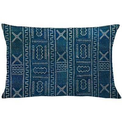 Mollica Mud Cloth Linen Lumbar Pillow - Wayfair