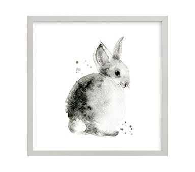 Bunny 2, Gray, 16x16 - Pottery Barn Kids