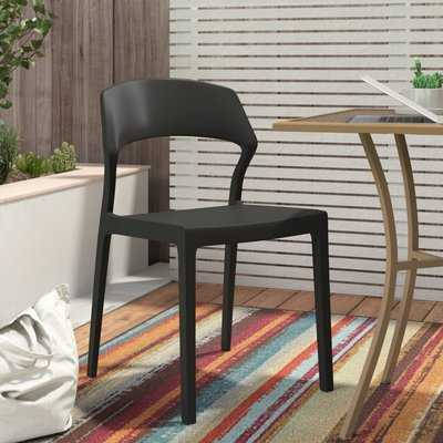 Aumiller Arm Patio Dining Chair (Set of 2) - AllModern