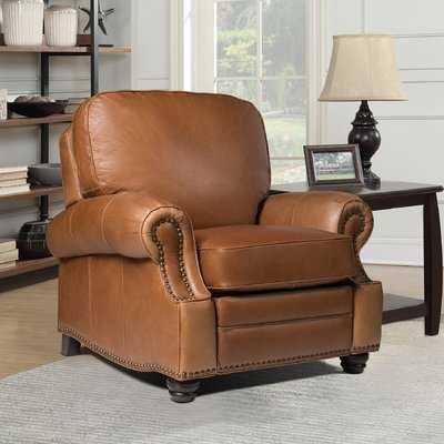 Kevan Leather Recliner - Wayfair