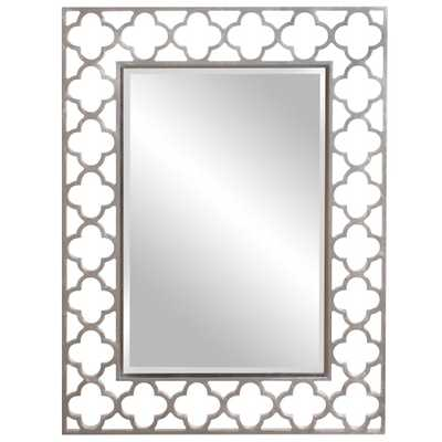 Gaelic Nickel Mirror - Home Depot