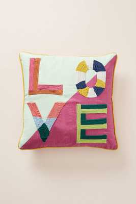 Love Pillow - Anthropologie