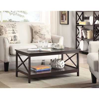 Convenience Concepts Oxford Espresso Coffee Table - 203082ES - eBay