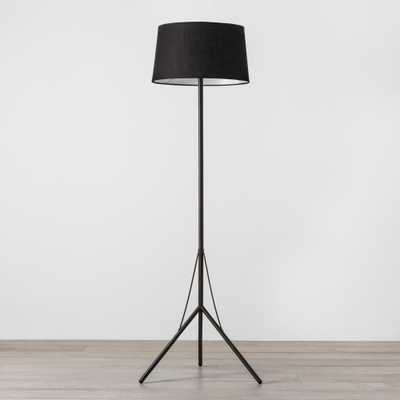 Floor Lamp with Shade Black - Hearth & Hand with Magnolia - Target
