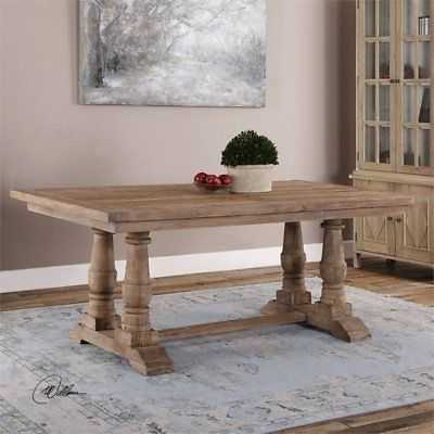 Uttermost Stratford Dining Table in Salvaged Wood - eBay