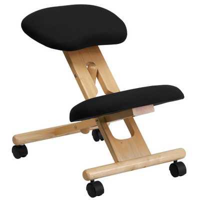 Flash Furniture 24 in. Black Kneeling Office Chair - Home Depot