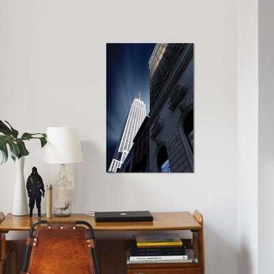 'Skyscraper' Graphic Art Print on Canvas - Wayfair