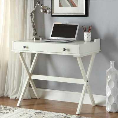 Elise White Desk - Home Depot