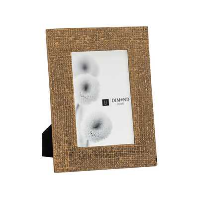 Ripple Texture 1-Opening 4 in. x 6 in. Rose Gold Picture Frame - Home Depot