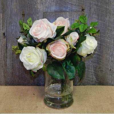 Classic English Rose Garden Centerpiece II - Birch Lane