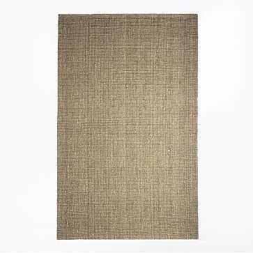 Jute Boucle Rug, 5'x8', Flax - West Elm