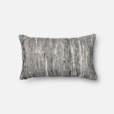 """PILLOWS - BLACK / MULTI - 13"""" X 21"""" Cover Only - Loma Threads"""