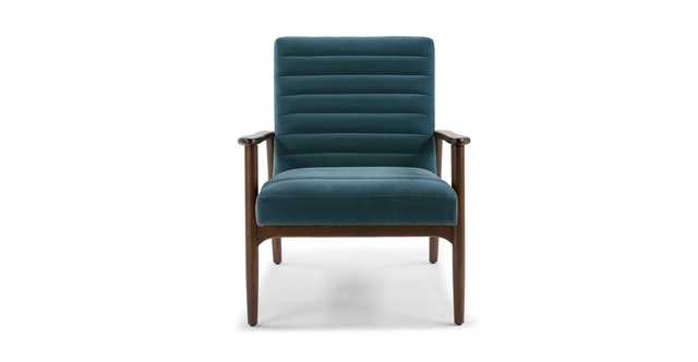 Thetis Pacific Blue Chair - Article