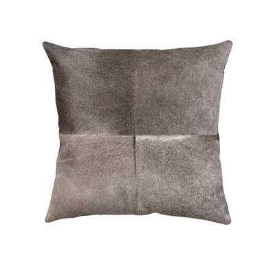 Wendler Hide Linen Throw Pillow - Wayfair