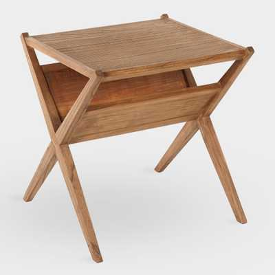 Reclaimed Pine Maya Magazine Accent Table by World Market - World Market/Cost Plus