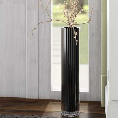 Glass Floor Vase - Wayfair