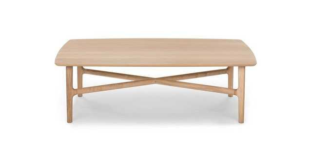 Brezza Light Oak Rectangular Coffee Table - Article