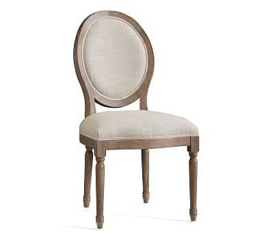 Louis Chair, Gray Wash - Pottery Barn