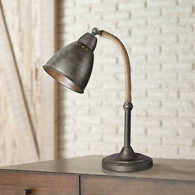 Forty West Gage Industrial Raw Metal Adjustable Desk Lamp - eBay