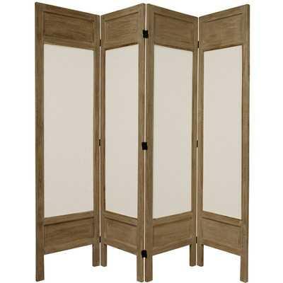 Huffman 4 Panel Room Divider - Wayfair