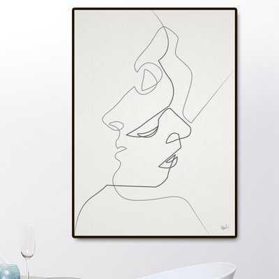 'Close' Framed Graphic Art Print - Wayfair